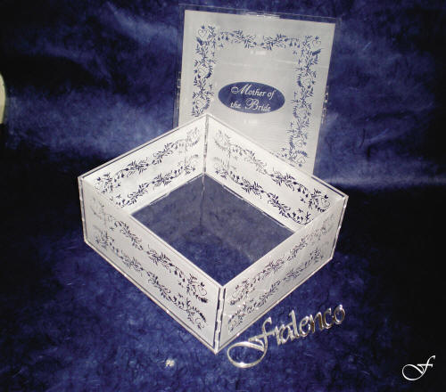 Laser Engraved Boxes - Fralenco