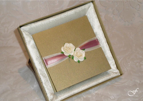 Bachelorette Cards with Ribbon and Rose by Fralenco