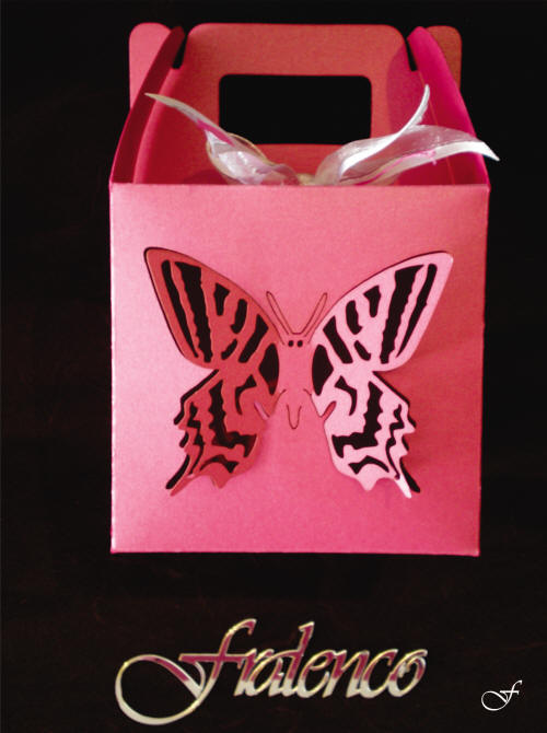 Bags & Boxes with Butterfly - Fralenco