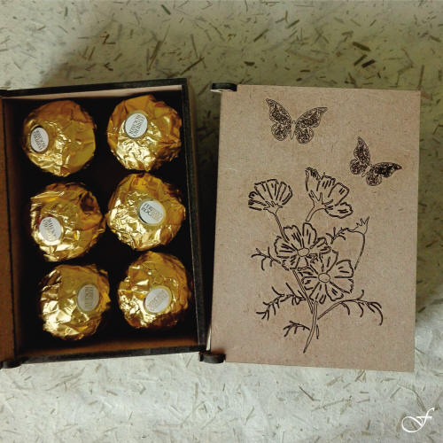 Engraved & Laser Cut Chocolate Boxes - Fralenco