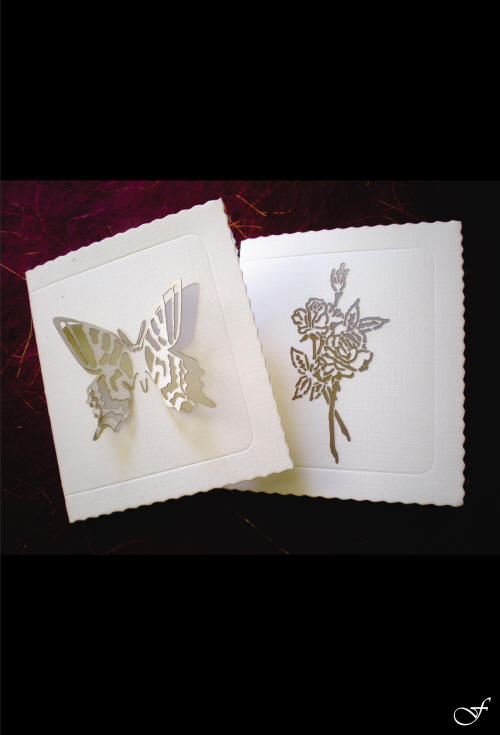 Thank You Cards with Butterfly - Fralenco