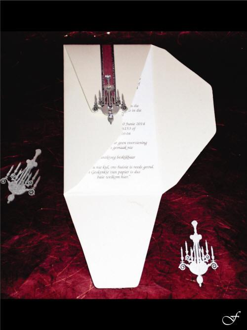 Folded and Ribbon Envelope & Wedding Invitation from Fralenco