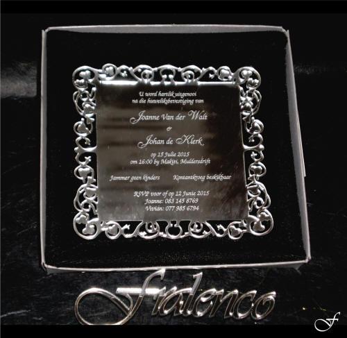 Wedding Invitation Mirror by Fralenco