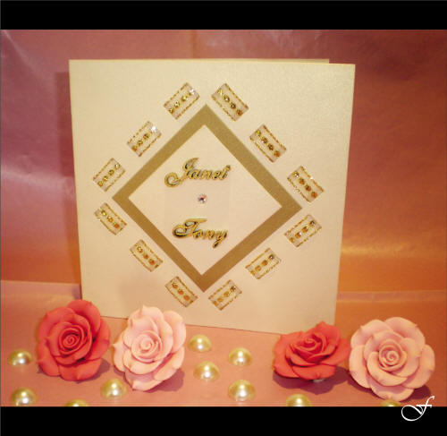 Wedding Invitations With Rose Ribbon By Fralenco