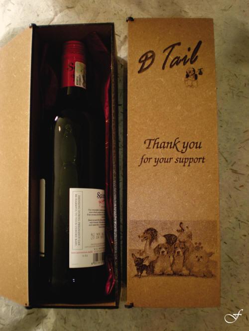 Laser Cut & Engraved Wine Bottle Boxes